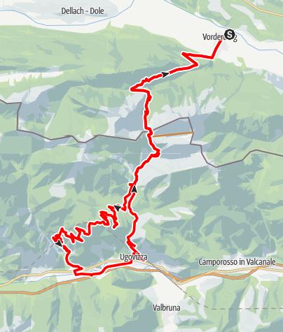 Karte / I1 - Dolinzaalm – Malga Priu Runde