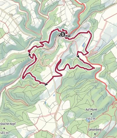 Kaart / Monrealer Ritterschlag