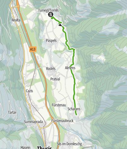 Karte / Domleschg