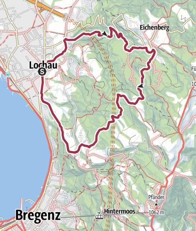 Map / Lochau – Eichenberg – Lochau