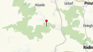 Karte / Wanderparkplatz Roter Pfahl