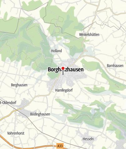 Karte / TERRA.vista Ausblicke zum Anhören: Kultur- und Heimathaus Borgholzhausen