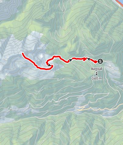 Kaart / Von Spiluck auf die Karspitze