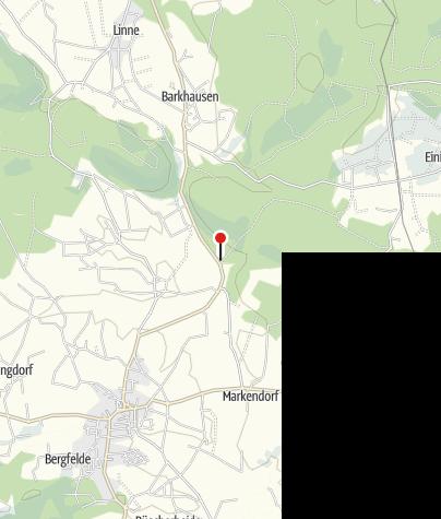 Karte / Wanderparkplatz Huntetal