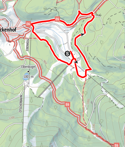 Karte / Sagenwandermeile Lackenhof