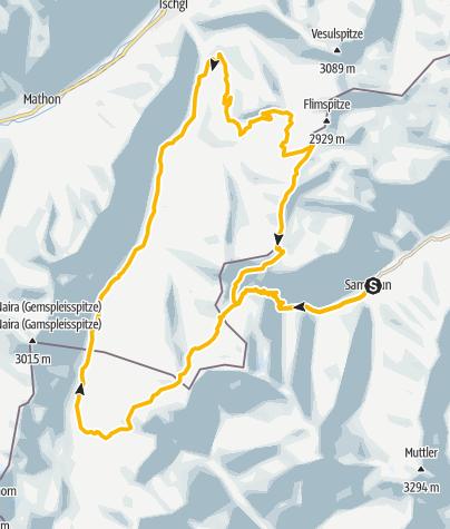 Karte / Heidelberger Hütte