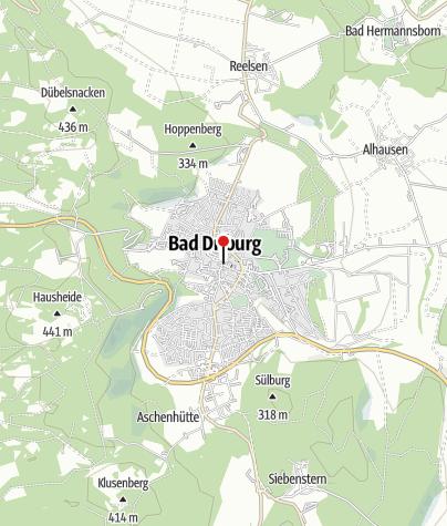 """Kaart / Stadtrundgangs - Informationstafel """"Mühlenpforte"""""""