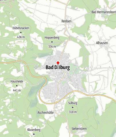 "Kaart / Stadtrundgangs - Informationstafel ""Ehemalige Synagoge"""
