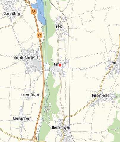 Karte / Ehemalige Synagoge Fellheim