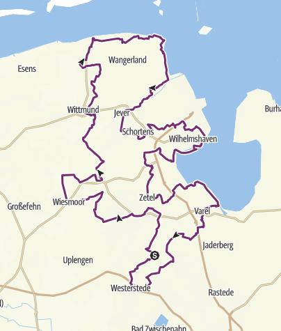 Map / Tour de Fries