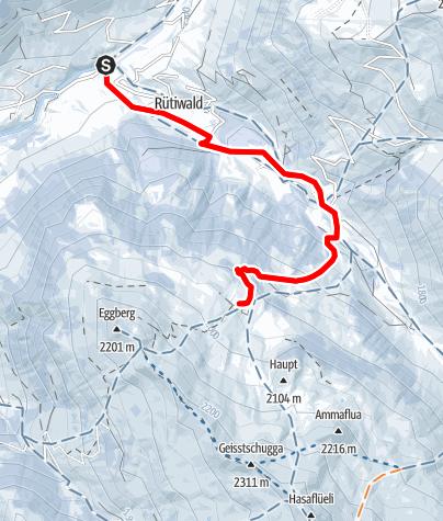 Map / Tour Gafia (markierter Trail Nr. 24)