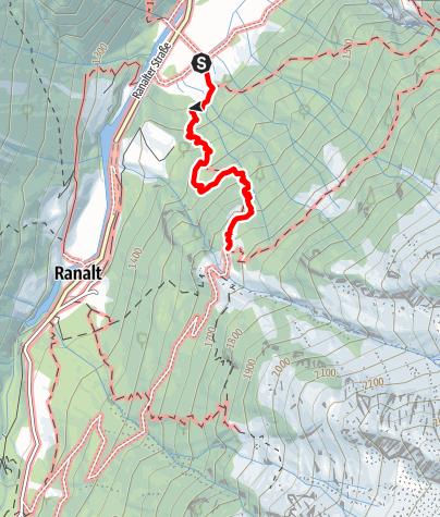 Karte / Falbeson - Falbesoner Nockalm