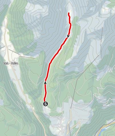 Karte / Almenkneippweg in Meransen