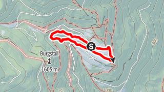 Map / Healing Herbs on the Panoramaweg Trail of Spelonca Spiluck