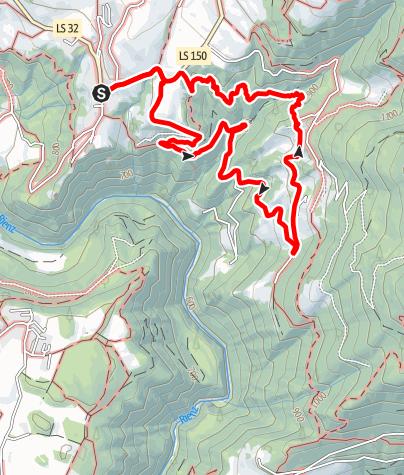 Cartina / L'itinerario delle Api a Rodengo