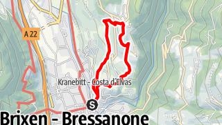 "Map / On the ""Archeopfad"" Trail around Bressanone|Brixen"