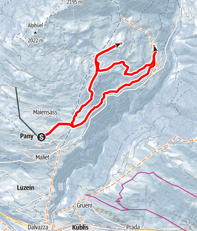 Map / Gadenstätter Rundtour (markierter Trail Nr. 13)