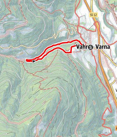 Kaart / Erlebnisweg Naturdenkmal Schalderer Bach