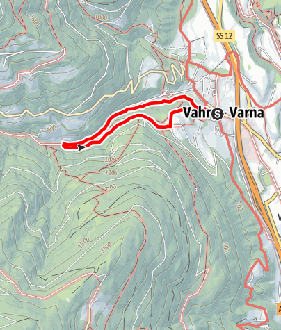 "Map / ""Schalderer Bach Natural Monument"" Adventure Hiking Trail"