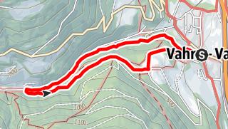 Mappa / Il monumento naturale Rio di Scaleres