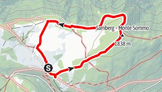 Mapa / Die Hochmoore auf der Villanderer Alm