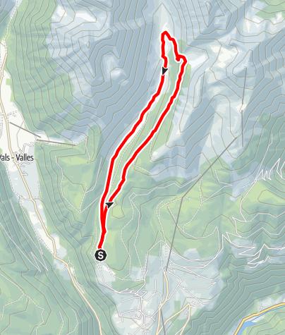 Mapa / Altfasstal-Rundwanderung in Meransen