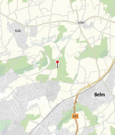 Karte / Wanderparkplatz Bramheide