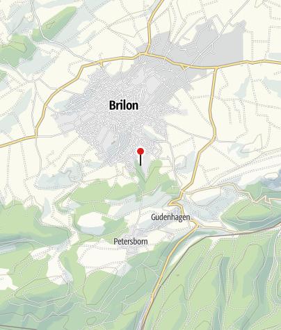 Karte / Landschaftstherapeutischer Weg Brilon
