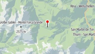 Map / Pecolhütte