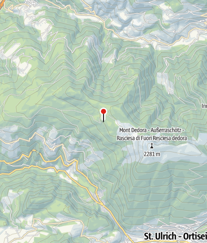 Mapa / Ramitzler Schwaige