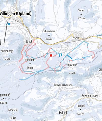 Map / Skigebiet Usseln