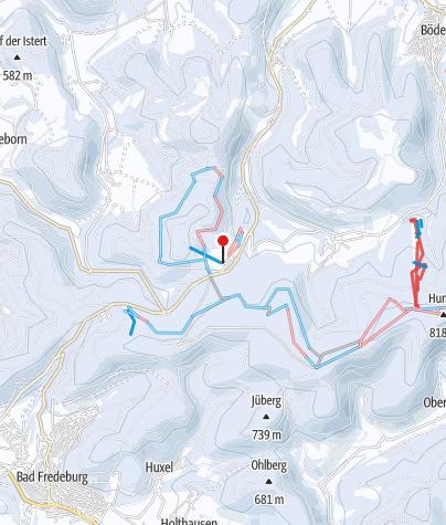 Map / Skigebiet Rimberg