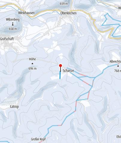 Map / Skigebiet Schanze