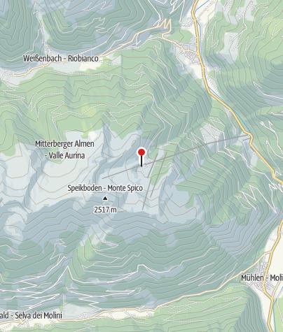 Mapa / Michelraiser Alm 1.960m