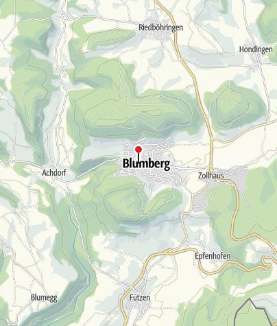 Karte / Hotel Hirschen