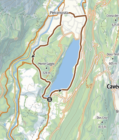 Cartina / 754. Round Lake Cavedine (All Mountain)