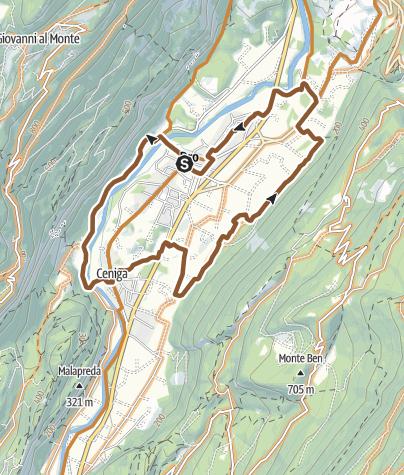 Karte / F5 Dro, auf den Pflaumenweg