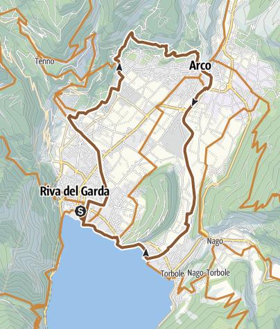Karte / E2 Olivaia di Arco