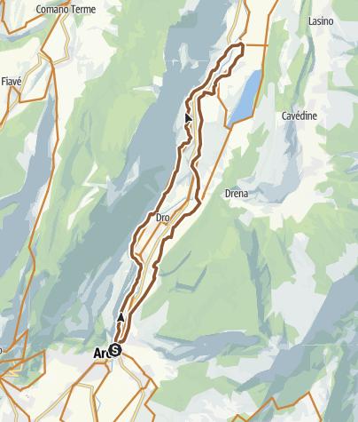 Cartina / E3 Marocche di Dro