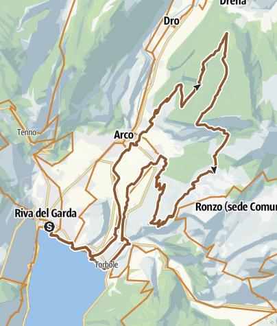 Map / E5 Monte Velo