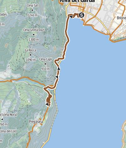 Map / E6 Ponale