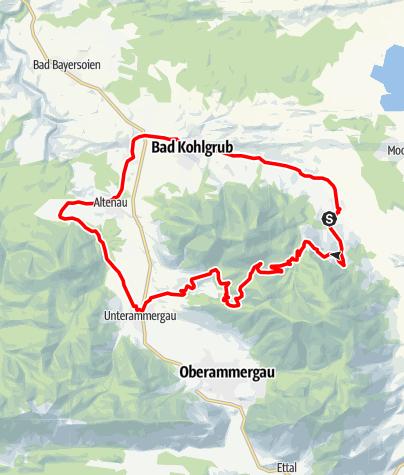 Karte / Mountainbike - Drei Marken