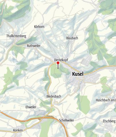 """Kaart / Gaststätte """"Hubehaus"""""""