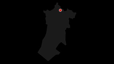 Map / Via Dinarica HR-W-03 Nacionalni park Risnjak