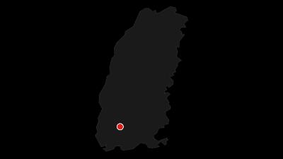 Karte / Wiesentalradweg bis nach Basel