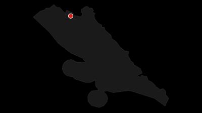 Map / Via Dinarica HR-B-09 Paklenica National Park