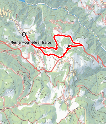 Map / Pyramid Hike in Collepietra/Steinegg