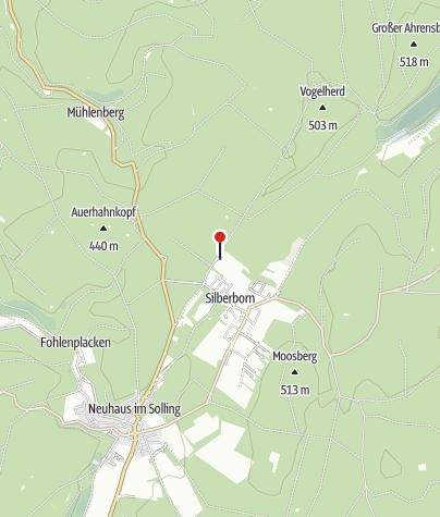Karte / Jugendherberge Silberborn
