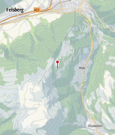 Karte / Edelweisshütte Brambrüesch