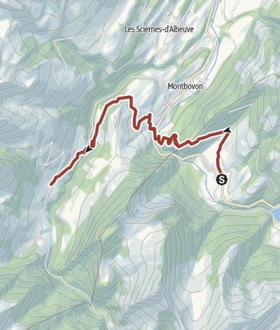 Map / Via L'Etivaz AOP, stage 7